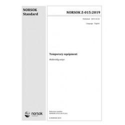 NORSOK Z-015