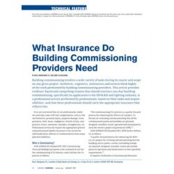 What Insurance Do Building Commissioning Providers Need