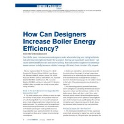 Solving Problems: How Can Designers Increase Boiler Energy Efficiency?