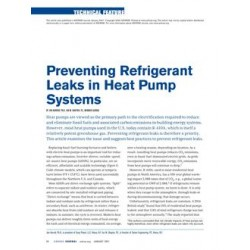 Preventing Refrigerant Leaks in Heat Pump Systems