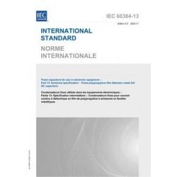 IEC 60384-13 Ed. 5.0 b:2020