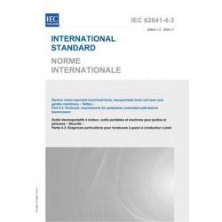 IEC 62841-4-3 Ed. 1.0 b:2020