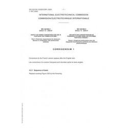 IEC 62109-3 Cor.1 Ed. 1.0 b:2020