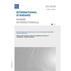 IEC 63048 Ed. 1.0 b:2020