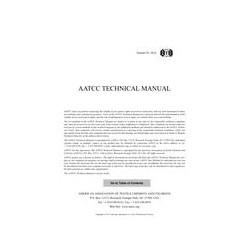 AATCC Technical Manual - 2018